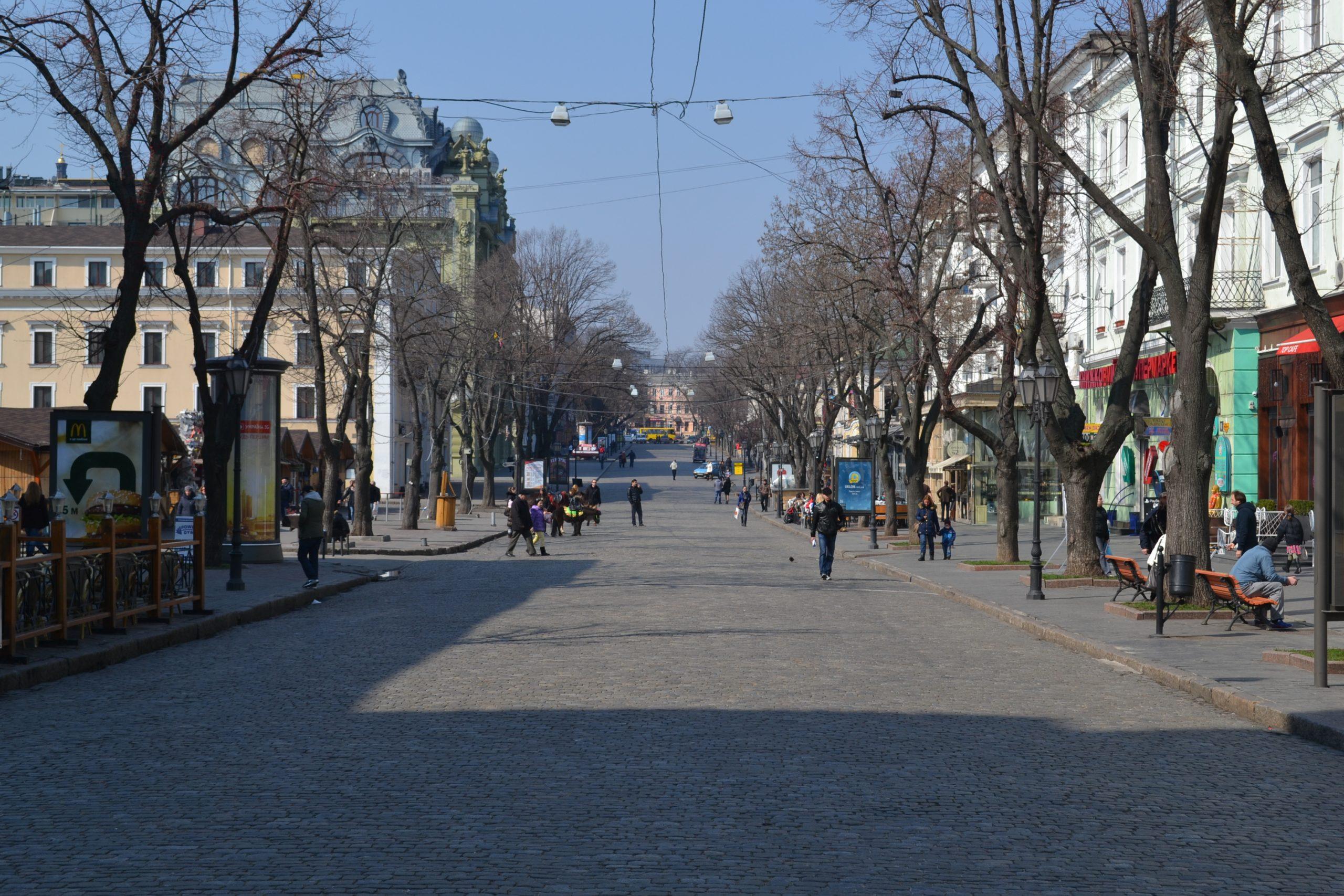 Веб камера – улица Дерибасовская – Одесса