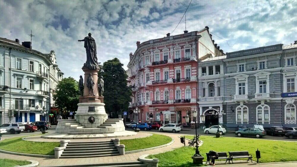 Веб камера – Екатерининская площадь – Одесса