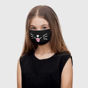 Детская маска с принтом