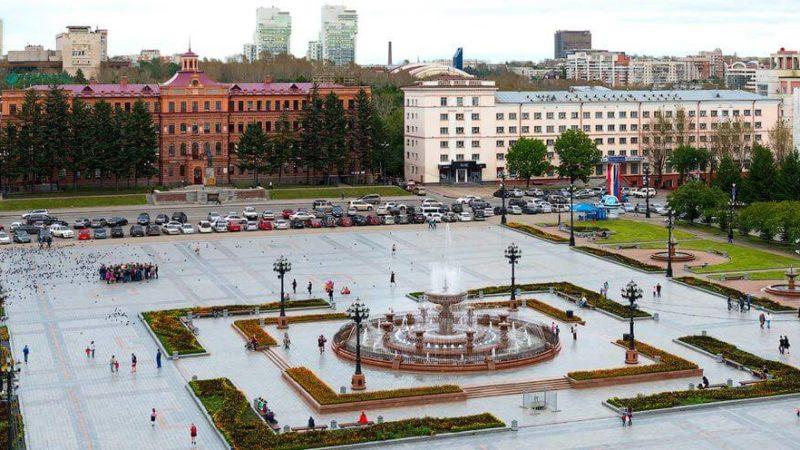 Площадь Ленина - Хабаровск