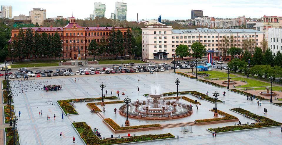 Веб камера – площадь Ленина – Хабаровск