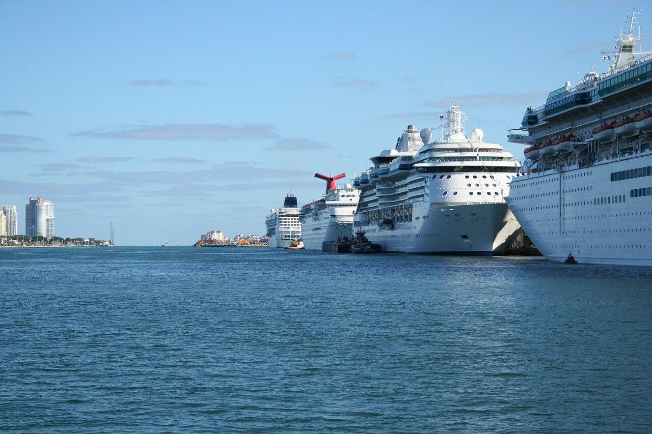 Веб камера — Порт Майами — США