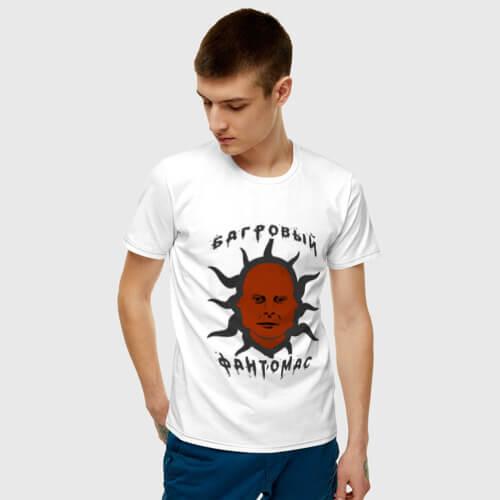футболка Лапенко Багровый Фантомас