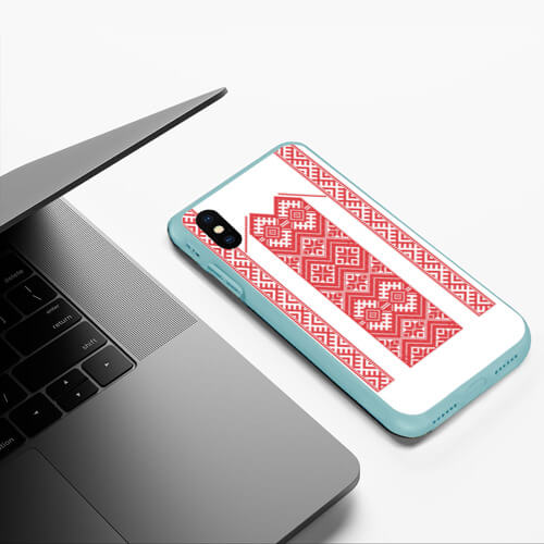 Чехол для iPhone XS Max матовый