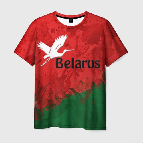 Майка с надписью Belarus